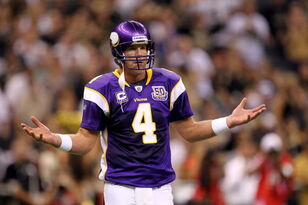 Brett Favre Reveals That He Was Concussed During 2009 NFC Championship Game