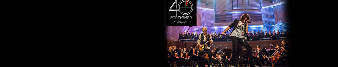 Don't miss an evening with Foreigner and the Dave Eggar Orchestra!! Click here for tickets!