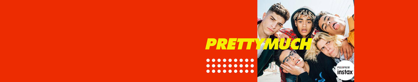 Win A Pair of Tickets + Meet & Greet Passes to PRETTYMUCH EVERYWHERE Sponsored by FUJIFILM INSTAX!