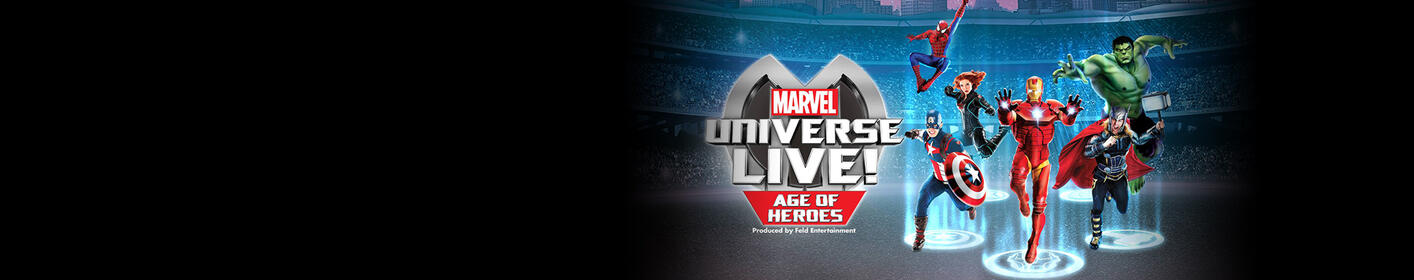 Win tickets to see Marvel Universe LIVE!