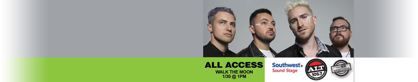 See Walk The Moon perform a 404 Session