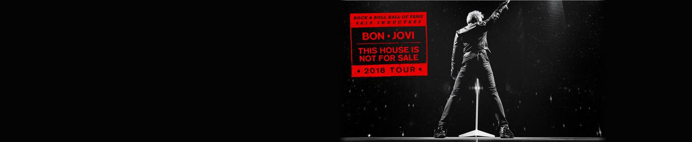 Win tickets to see Bon Jovi at the Smoothie King Center!