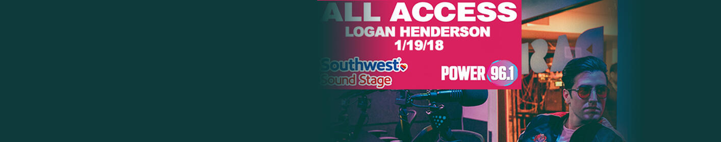 Win Exclusive Access To The Logan Henderson Southwest Sound Stage
