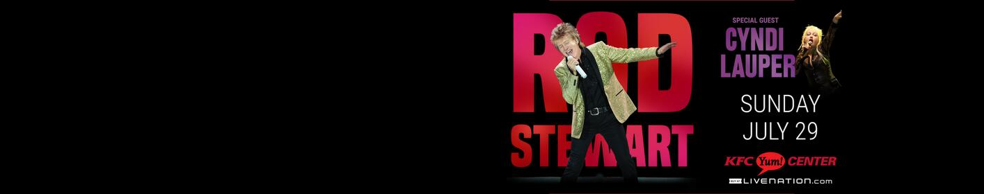 Listen everyday this week with Traci James for your chance to win Rod Stewart & Cyndi Lauper ticktets!