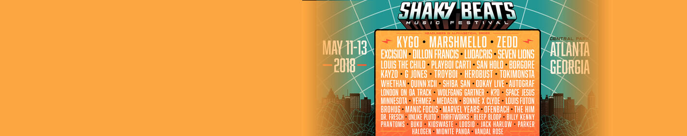 Listen To Win 3-Day Passes To Shaky Beats Every Hour All Weekend On Power 96.1!