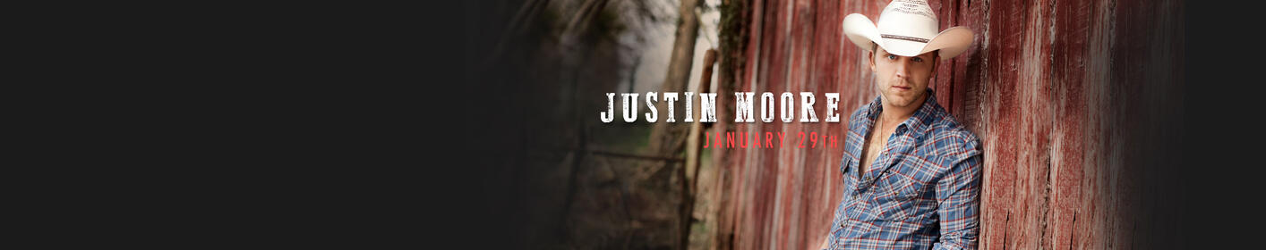 Win: Tickets To See Justin Moore At Table Mountain Casino!