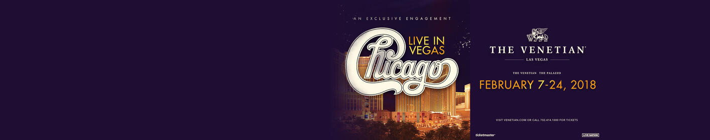 Listen For The Chicago Song of the Day For Your Chance To Win A Trip To See Chicago In Vegas!