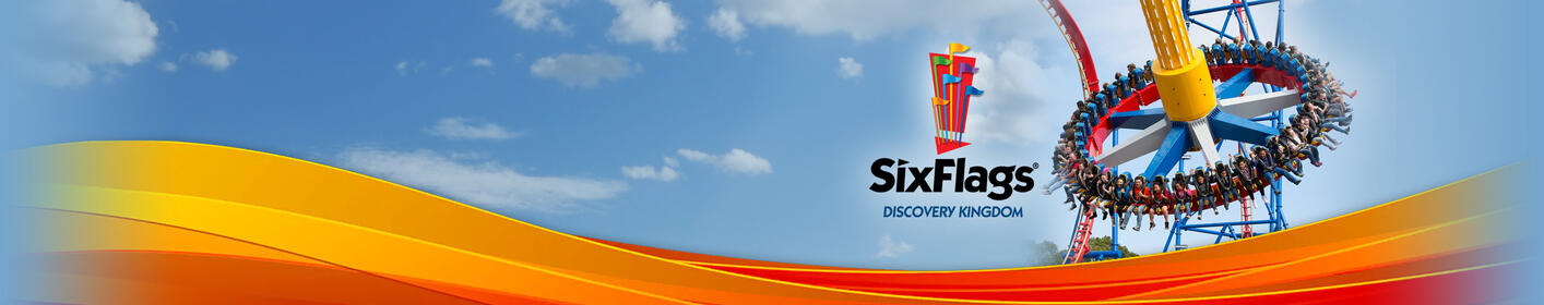 Listen at 8:45a and 6p to win Six Flags Discovery Kingdom tickets!