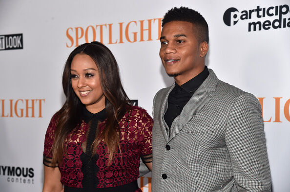 Tia Mowry and Cory Hardrict - Getty Images