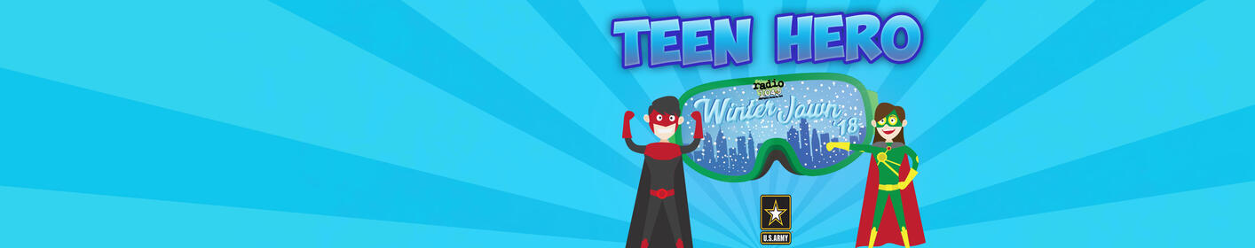 Nominate YOUR Teen Hero for a chance to win Winter Jawn tix + Meet & Greets