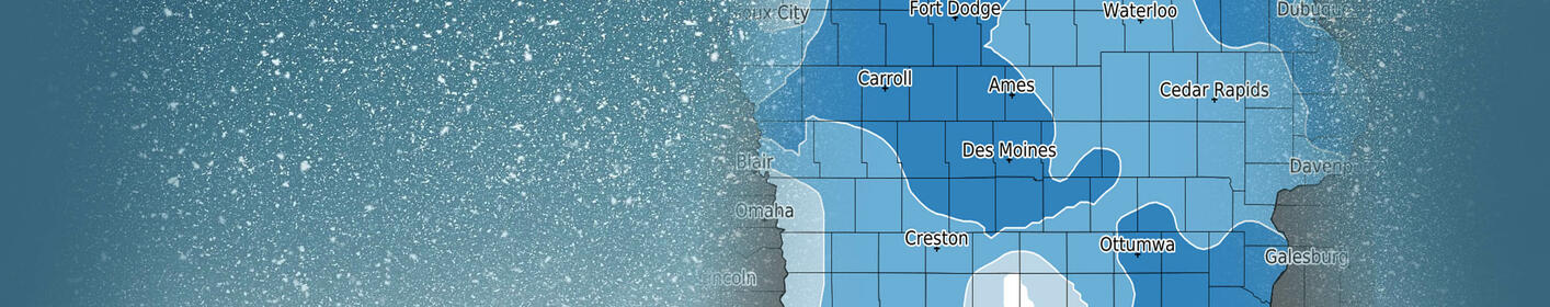 Snow totals MAP Deep freeze first, then weekend warm up