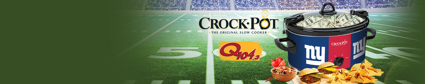 Win a Crock-Pot Full of Cash for Your Big Game Bash, Thanks to The NFL Crock-Pot® Cook & Carry™ Slow Cooker!