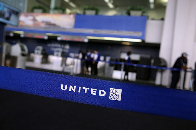 United Airlines Getty Images