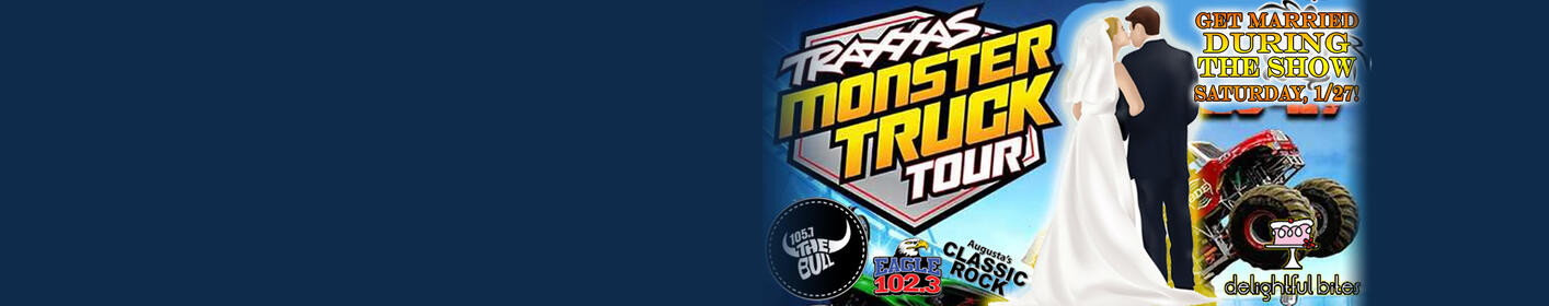 Get Married at the Traxxas Monster Truck Show on 1/27 at the JBA!  Enter Here!