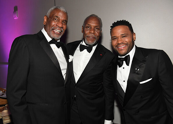 Richard Gant, Danny Glover and Anthony Anderson at the 2018 NAACP Image Awards