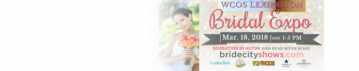 The WCOS Lexington Bridal Expo - March 18th, 2018 - Click here for more details