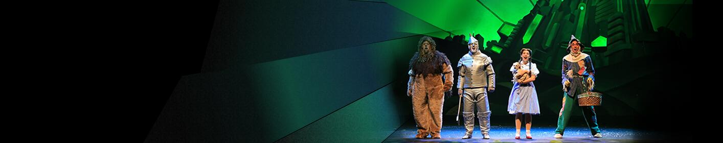 Win tickets and be off to see the Wonderful Wizard of OZ!