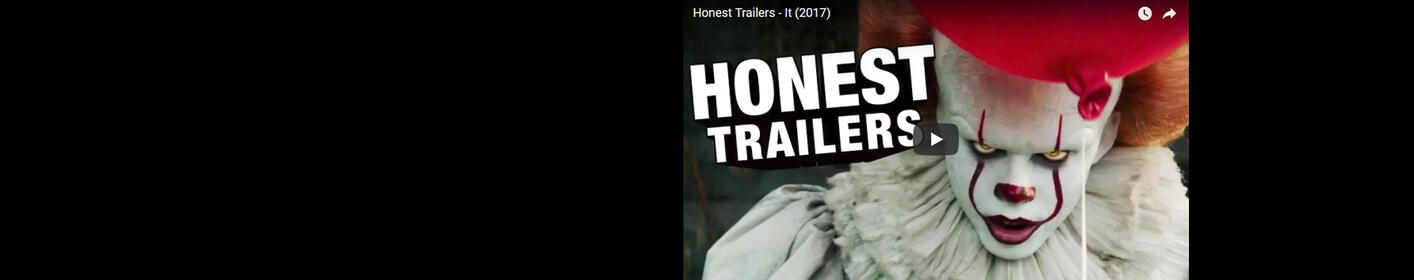 "Honest Trailers - ""It"""