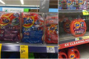 Stores Are Now Locking Up Tide Pods Because People Are Still Eating Them!