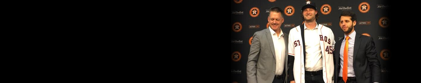 Houston Astros Introduce Pitcher Gerrit Cole