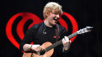 image for We're Hooking You Up With Ed Sheeran Tickets This Weekend