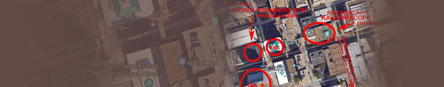Downtown Des Moines property swap makes sense MAP