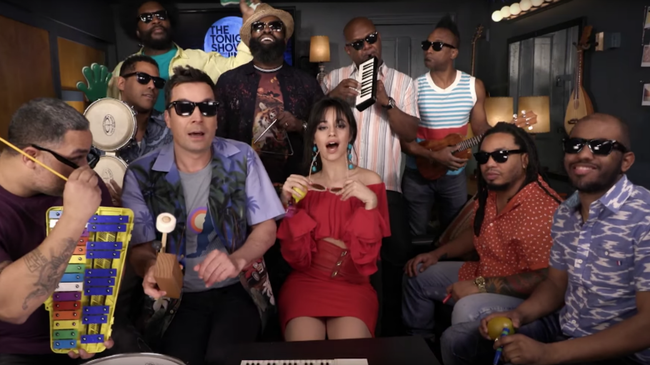 Camila Cabello Sings 'Havana' With Classroom Instruments On