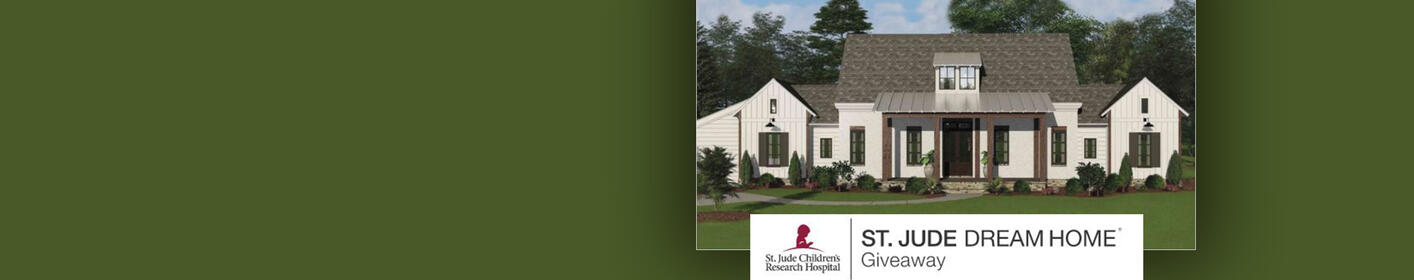 Win This House & Help Kids at St. Jude. Get Your Ticket Now.
