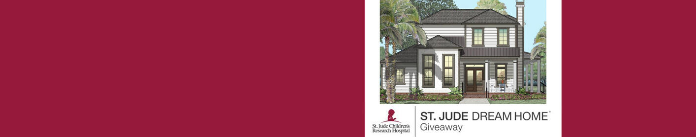 Win A House & Help Kids at St. Jude, Get Your Ticket Now.