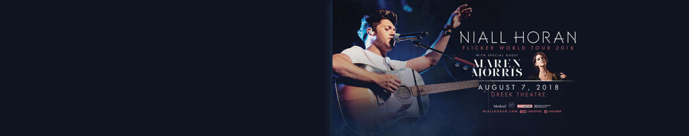 Enter for a chance to see Niall Horan!