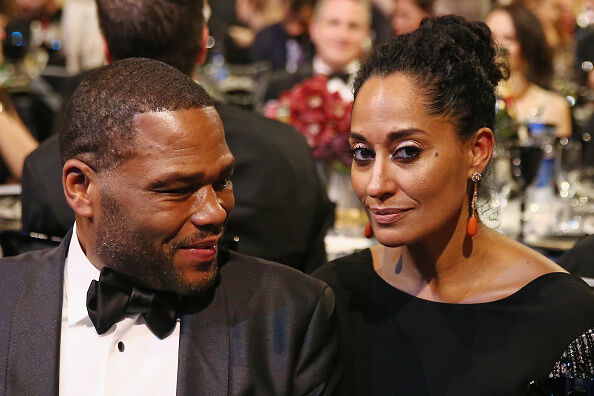 Tracee Ellis Ross and Anthony Anderson - Getty Images