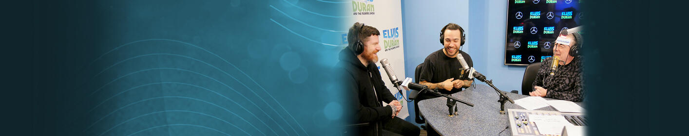 Elvis Duran Show Took Off Their Pants With Fall Out Boy