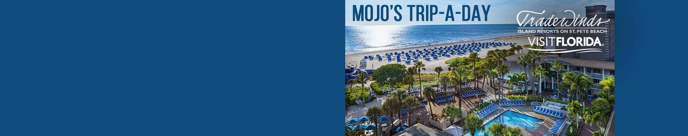 Go to St. Pete Beach with Mojo's Trip a Day