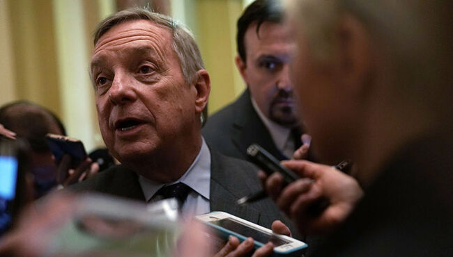 Durbin Calls On Trump To Sit Down And Resolve Government