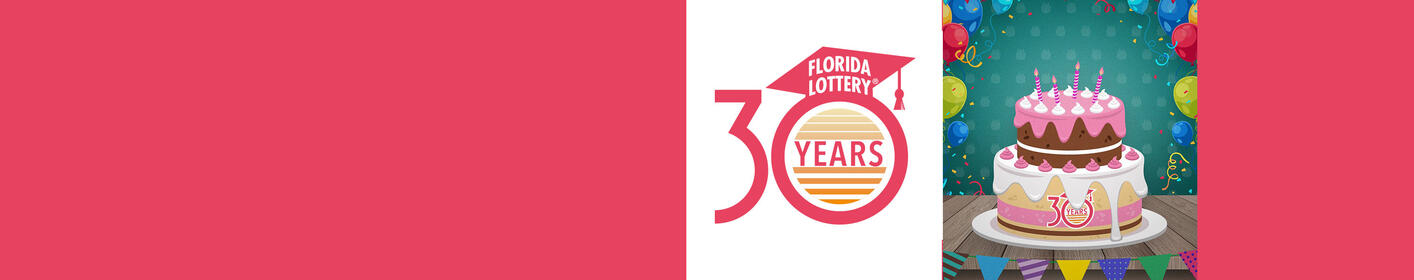 Florida Lottery 30th Birthday Listen to Win Promotion