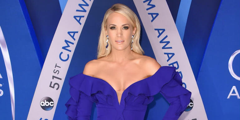 Carrie Underwood Poses For Athletic Clothing Campaign Post-Accident