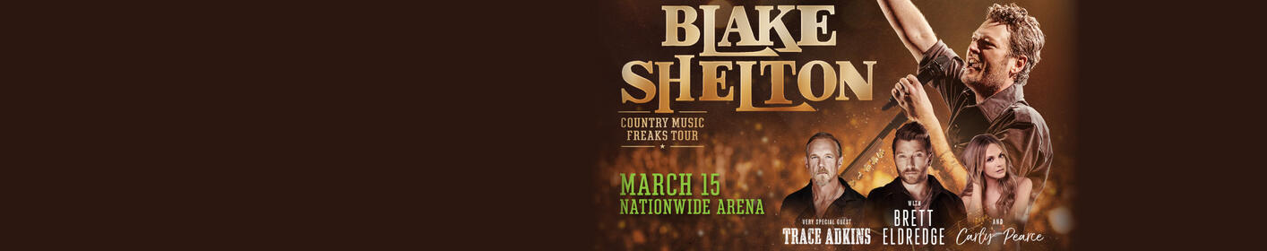 Blake Shelton Country Music Freaks Tour Contest