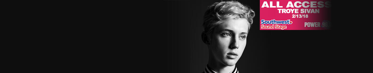 Win Exclusive Access To Our Troye Sivan Southwest Sound Stage!
