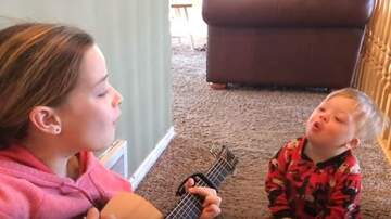 Moran - WATCH: Little girl has heart warming sing along with her autistic brother