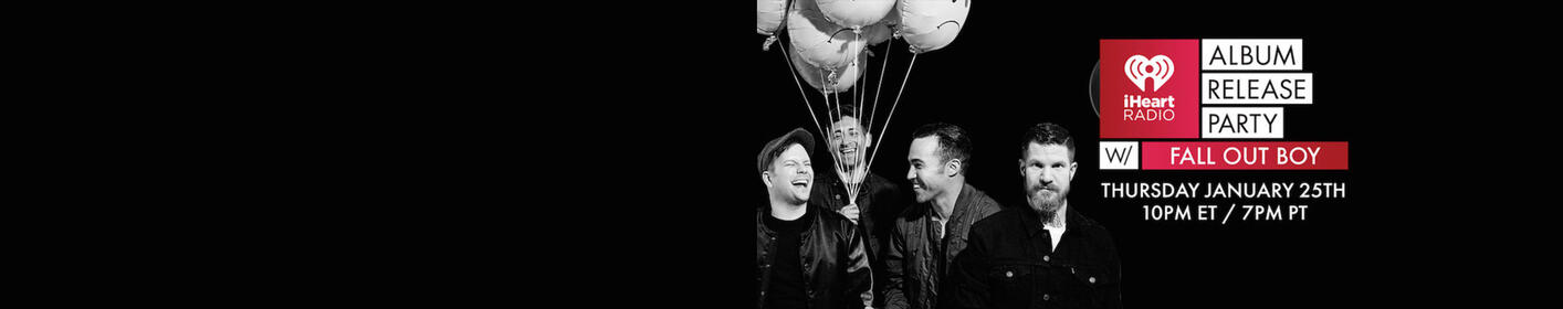 Win Passes to Our iHeartRadio Album Release Party with Fall Out Boy!