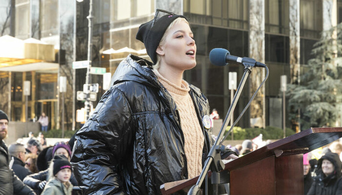 Halsey Opens Up About Sexual Assault During Powerful Women's March Speech on Channel 933