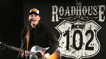 The K102 Roadhouse - PHOTOS: Travis Denning in the K102 Roadhouse