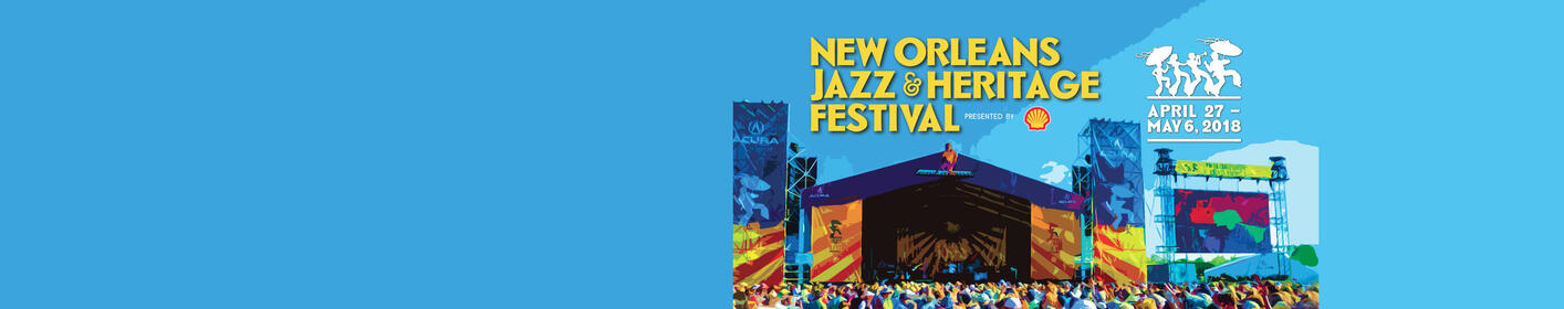 Jazz Fest 2018 Lineup Announced!