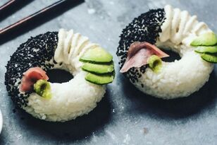 'Sushi Donuts' Is The Latest Food Trend On The Internet; Cause Why Not
