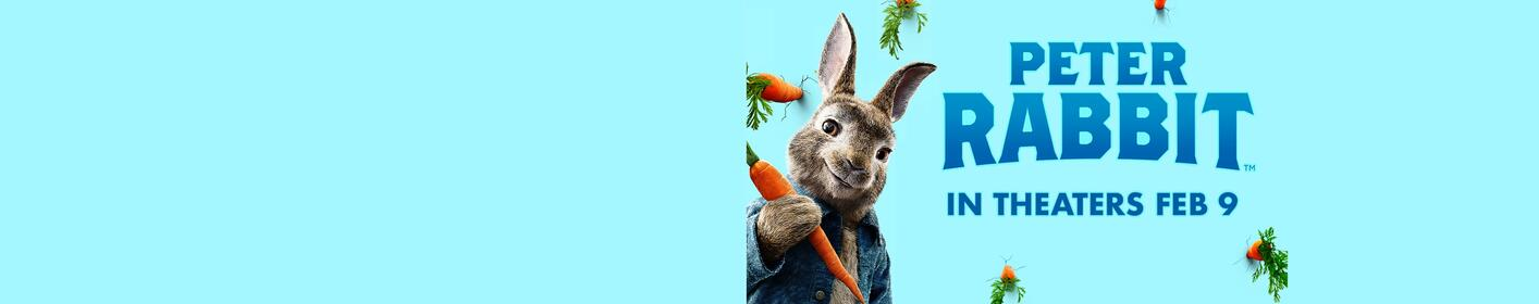Win tickets to see Peter Rabbit!