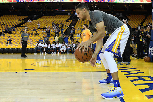 7c103408b3e2 The Golden State Warrior point guard was named has been the NBA s MVP twice  and did it all with just size 13.5 shoes.