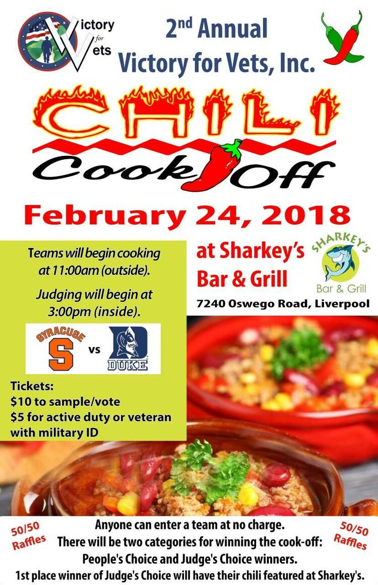 Chili cook off feb 24 2018 sharkeys bar and grill 7240 comments xflitez Choice Image