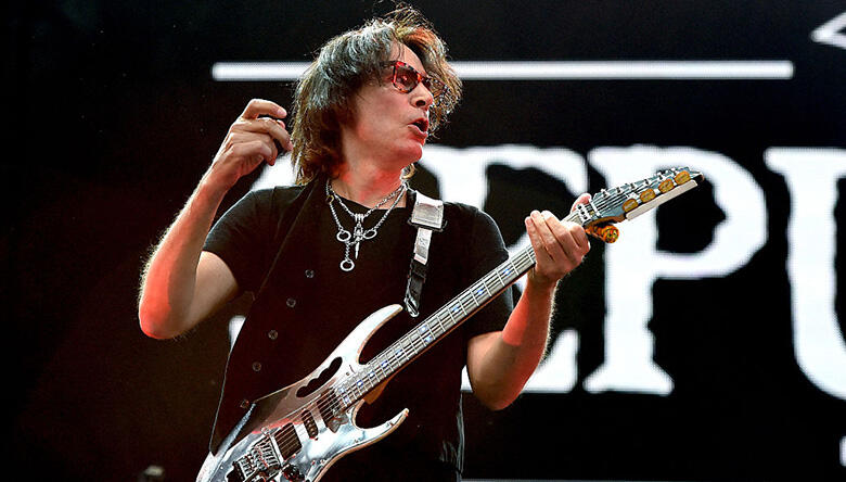 Steve Vai Reveals One Rock Guitarist He'd Take Lessons From
