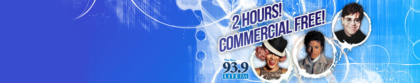 2 hours commercial free to start and end your workday! Weekdays at 8am and 4pm!