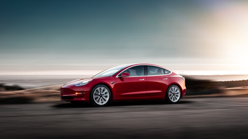 The AntMan - The New Tesla Model 3 Electric Car Is Now On Display In Scottsdale!
